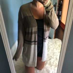 Gap Stripe Cardigan